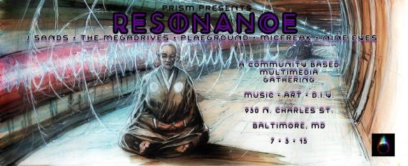 Resonance w/ J Sands, Plaeground, Megadrives, Micfreak, Nine Eyes & More at the Red Maple, Baltimore