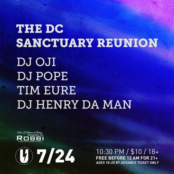 DC Sanctuary Reunion at U Street Music Hall
