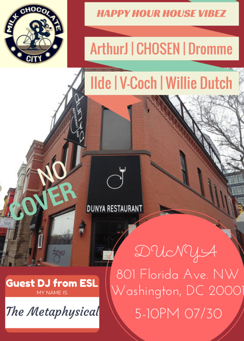 Rooftop Happy Hour House Vibez Pt. 6 at Dunya