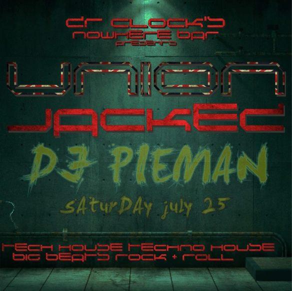 Union Jacked VI with DJ Pieman at Dr. Clock's Nowhere Bar
