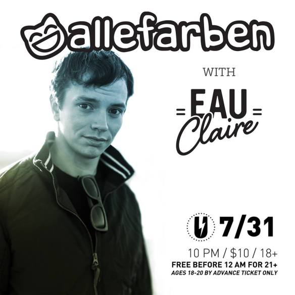 Alle Farben with Eau Claire at U Street Music Hall