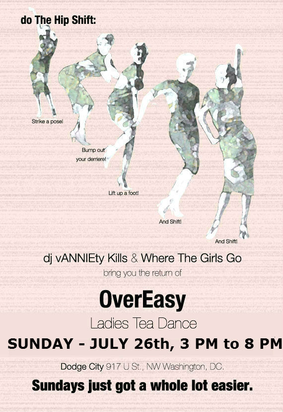OverEasy - Ladies Tea Dance at Dodge City