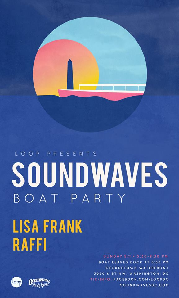 Soundwaves Boat Party Opening with DJ Lisa Frank and Raffi