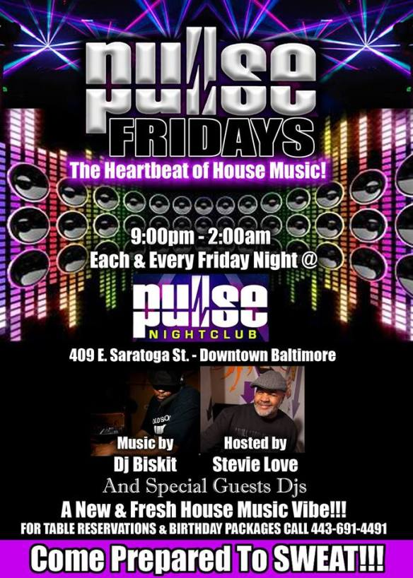 Pulse Fridays with DJ Biskit at Pulse Nightclub, Baltimore