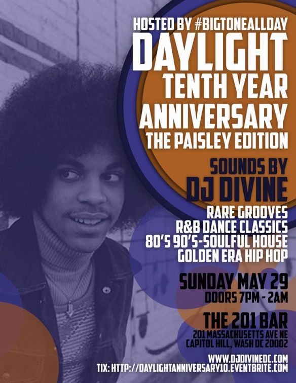 Daylight Tenth Year Anniversary with DJ Divine at The 201 Bar