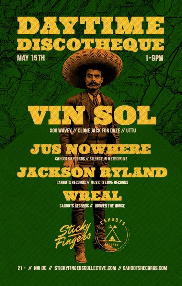 Daytime Discothèque featuring Vin Sol with Jus Nowhere, Jackson Ryland, & Wreal at Secret Warehouse Location