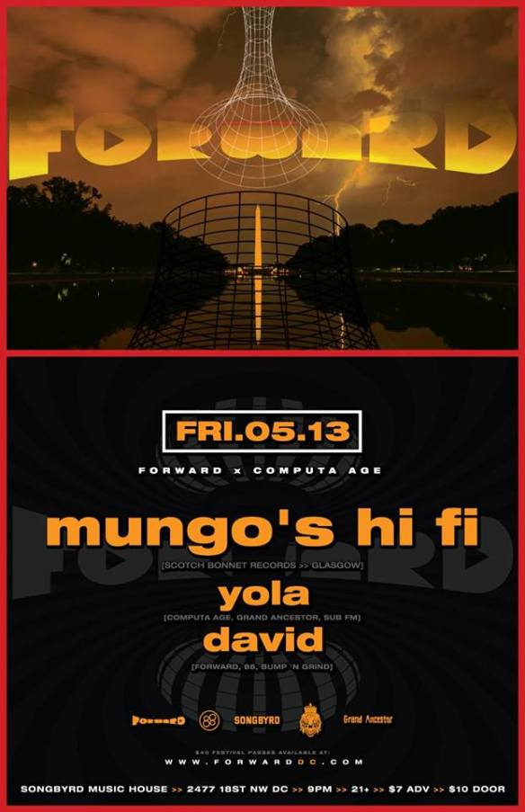 FORWARD x Computa Age present Mungo's Hi Fi at Songbyrd Music House and Record Café