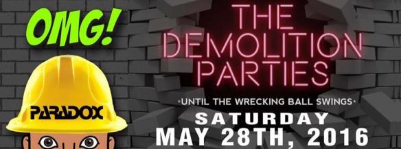 Deep Sugar The Demolition Series Part 1 with Ultra Naté, Lisa Moody, Wayne Davis, The Elders & Mookie Brock at The Paradox, Baltimore