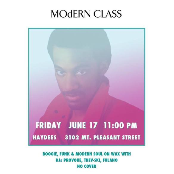 MOdERN CLASS with DJ Provoke, Fulanoo & Trev-ski at Haydees