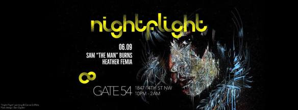 NightFlight with Sam Burns & Heather Femia at Cafe Saint-Ex
