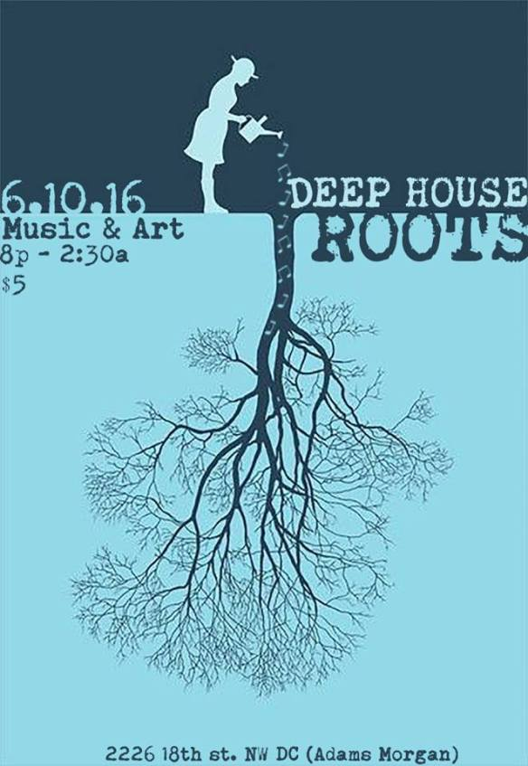Deep House Roots Steam Punk and Victorian EDM Party at 2226 18th Street NW