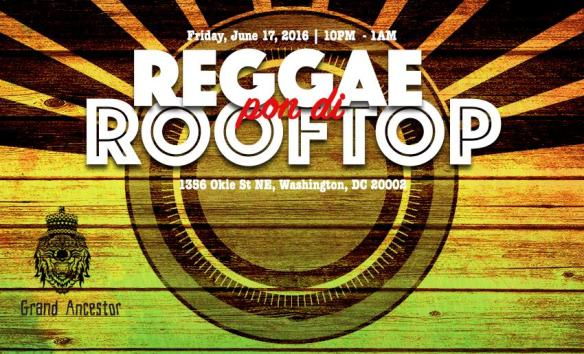 Reggae Pon Di Rooftop at Ivy City SmokeHouse Tavern & Market
