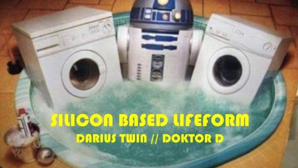 Silicon Based Lifeform with Doctor D and Darius Twin at Dr Clock's Nowhere Bar