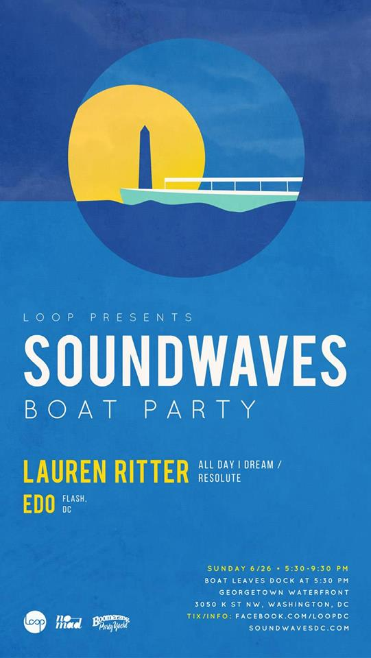 Soundwaves Boat Party with Lauren Ritter and Edo