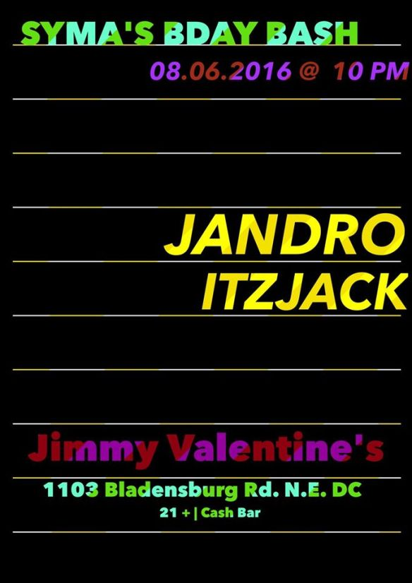 Syma's Bday Bash with Jandro and Itzjack at Jimmy Valentine's Lonely Hearts Club