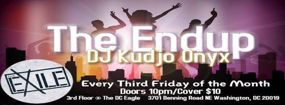 The Endup with DJ Kudjo Onyx at The DC Eagle
