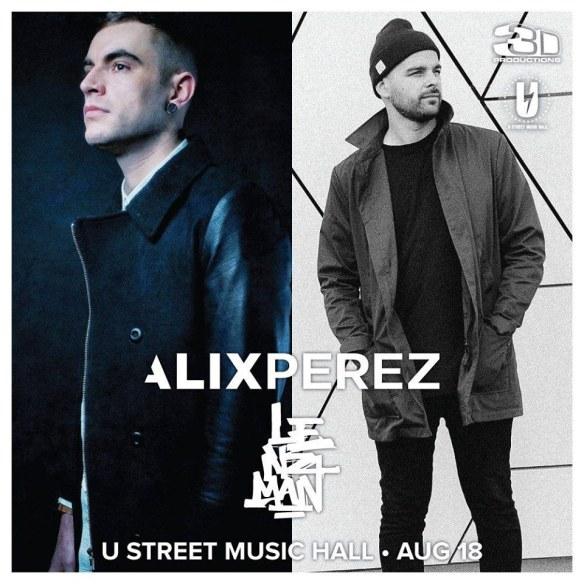 Alix Perez & Lenzman at U Street Music Hall