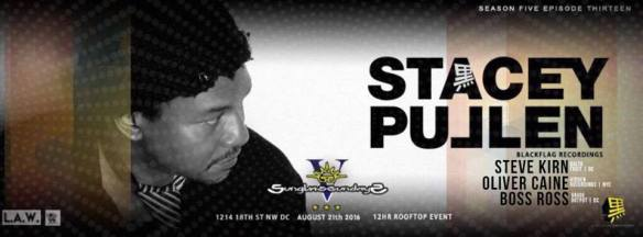 Sunglass Sundays V ft Stacey Pullen [Blackflag Records], Steve Kirn, Oliver Caine and Boss Ross at Public Bar
