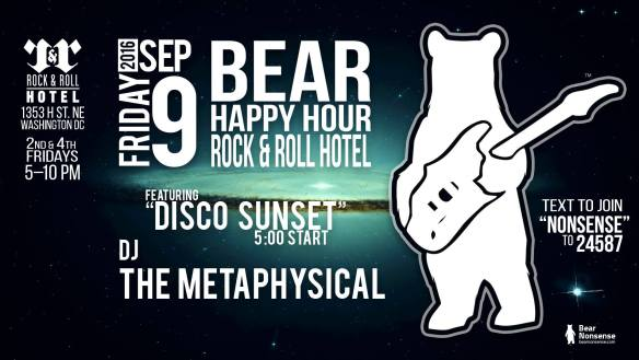 Bear Happy Hour with The Metaphysical at Rock and Roll Hotel