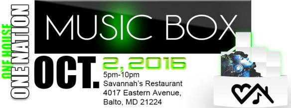 One House One Nation Music Box with DJ KMixx at Savannah's, Baltimore