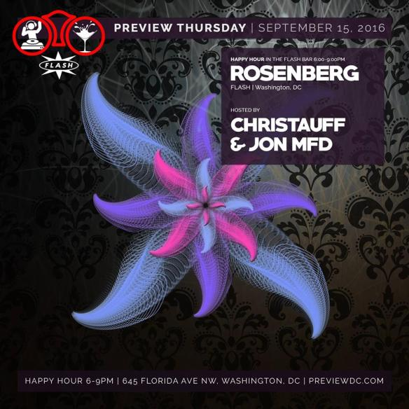 Preview with Rosenberg at Flash