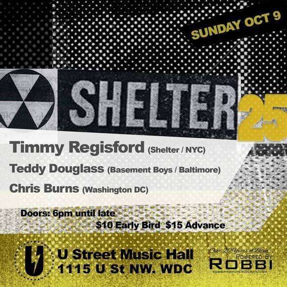 Timmy Regisford with Teddy Douglas, Chris Burns at U Street Music Hall