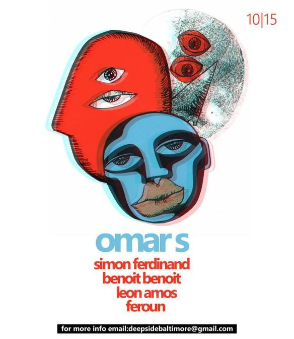 Kowli & Midnight Project present: Omar S with Simon Ferdinand, Benoit Benoit, Leon Amos & Feroun at The DC Eagle