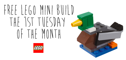 LEGO - FREE Monthly Mini Build