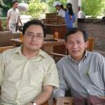 Lê Công Định (trái) & Nguyễn SĨ Bình (phải)