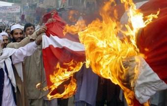 Islam protester