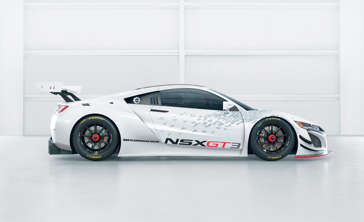 Acura NSX GT3 Race Car Space Frame Exposed - Guawa.co