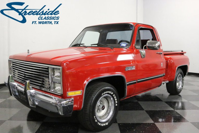 1987 GMC Sierra Classic 1500   Streetside Classics   The Nation s     For Sale  1987 GMC Sierra Classic 1500