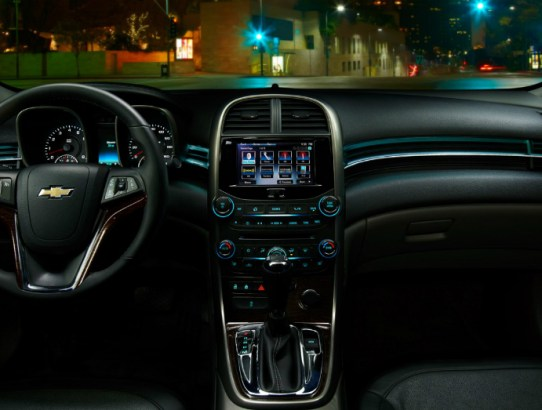 Chevrolet Impala 2LTZ interior