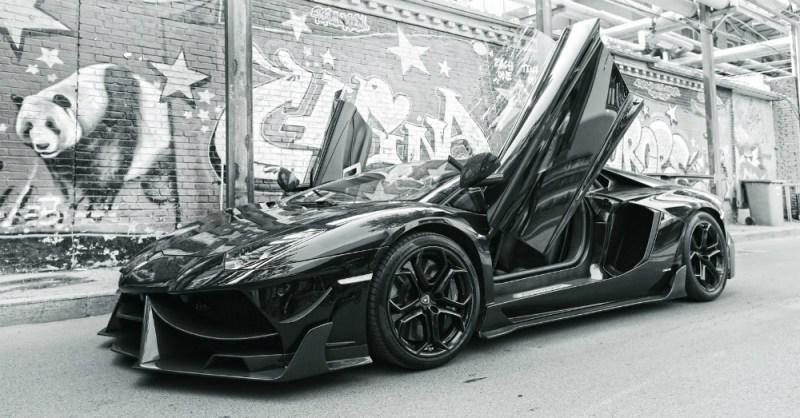 DMC Lamborghini Edizione GT Black