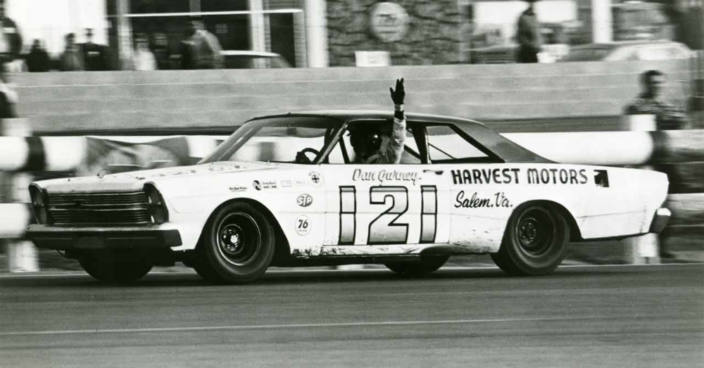 Dan Gurney Wood Brothers Ford Motortrend 500 Riverside 1966