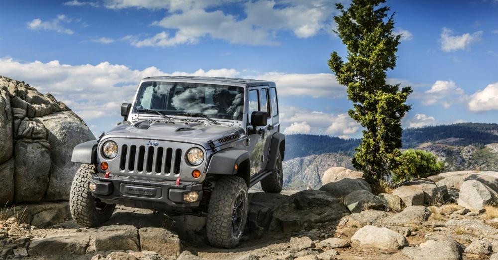 2016 Silver Jeep Wrangler