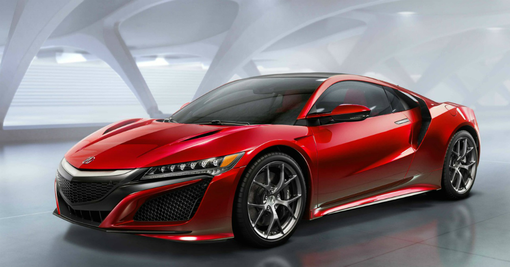 2016 Red Acura NSX