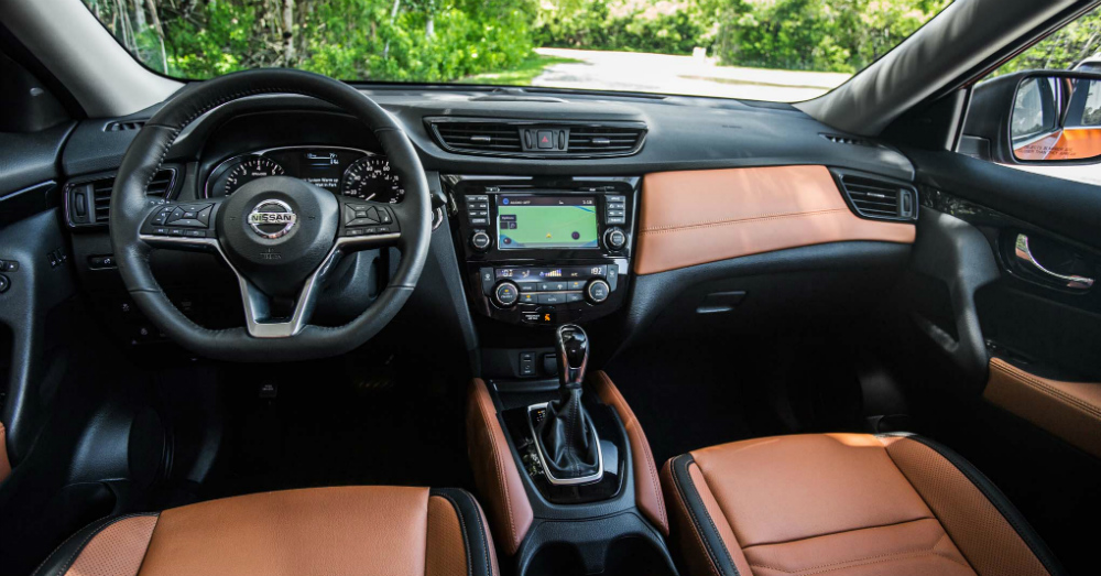 04.10.17 - Nissan Rogue Interior