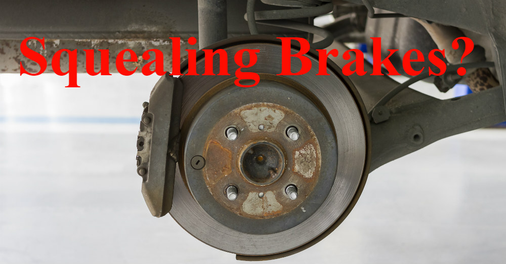 Should Your Brakes be Squealing