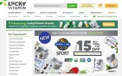 $20 Off LuckyVitamin Coupon Code | 2017 Promo Code | Dealspotr