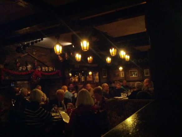 main dining room, Lord Fletcher's - image by The Jab