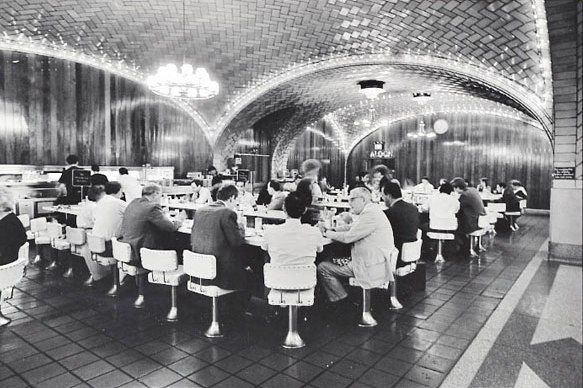 Grand Central Oyster Bar 1970s - image from Eater.com