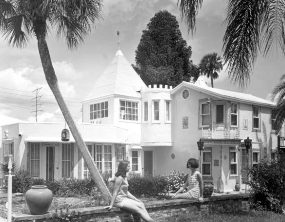 Chalet Suzanne, 1967 - photo by State Archives of Florida, Florida Memory site