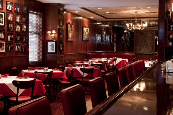 bar and front dining area, photo by Zagat.com