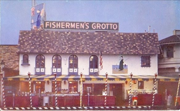 Fishermen's Grotto, 1950 - photo by Fisherman's Grotto Facebook page