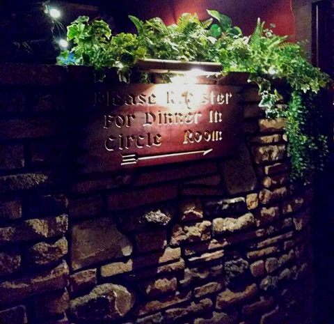 Clearman's Steak 'n Stein entrance sign
