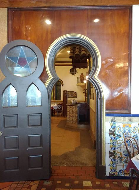 doorway into Don Quixote Room - photo by Dean Curtis, 2016