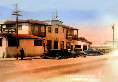 Hotel Caesar's Place, Tijuana, 1920s - image by The Kitchen Project
