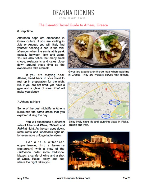 The Essential Travel Guide to Athens Greece 9