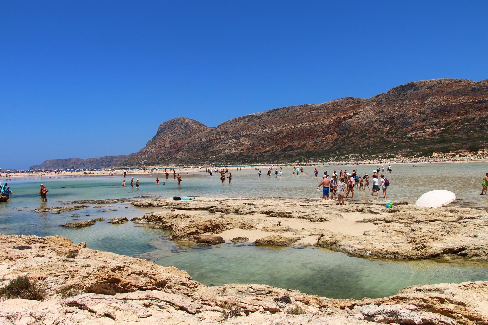 Balos Beach Lagoon, Crete. A spectacular natural phenomenon.
